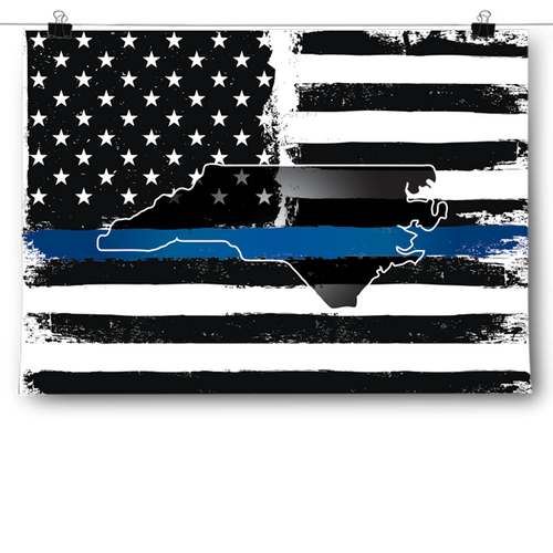 Thin Blue Line - North Carolina