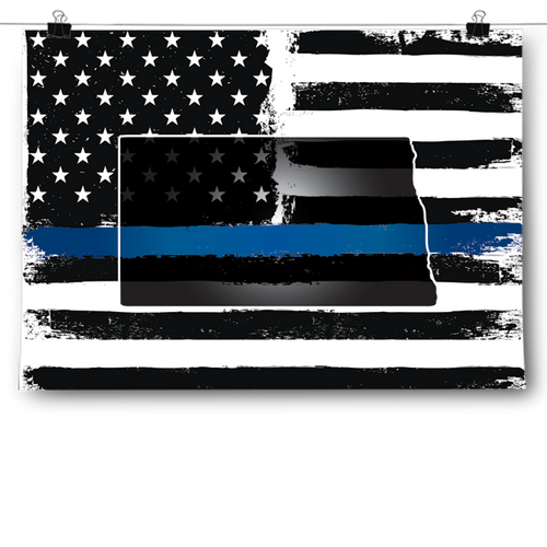 Thin Blue Line - North Dakota