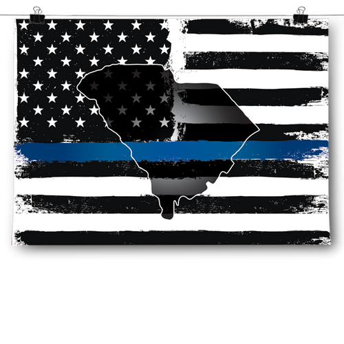 Thin Blue Line - South Carolina