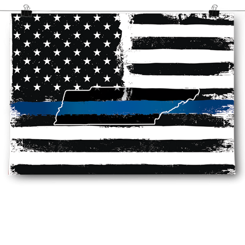 Thin Blue Line - Tennessee