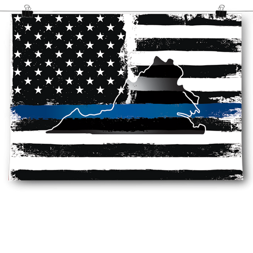 Thin Blue Line - Virginia