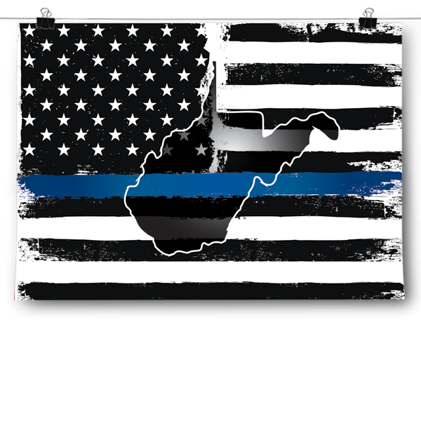 Thin Blue Line - West Virginia