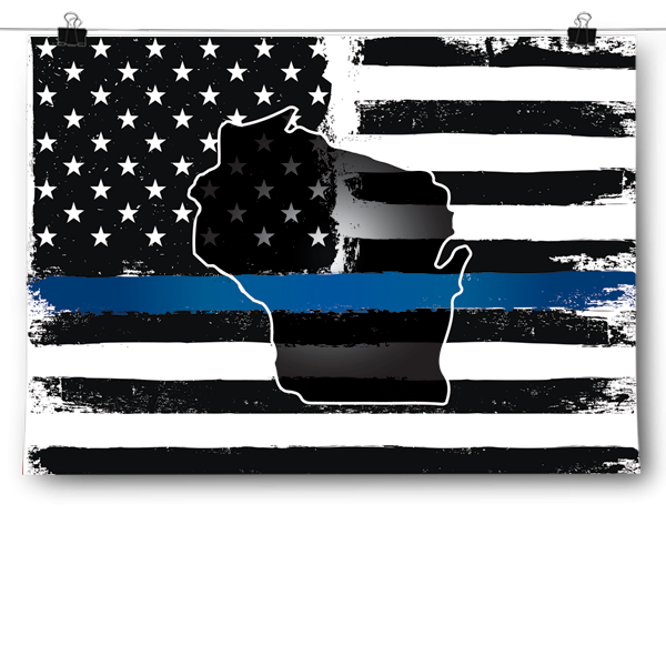 Thin Blue Line - Wisconsin