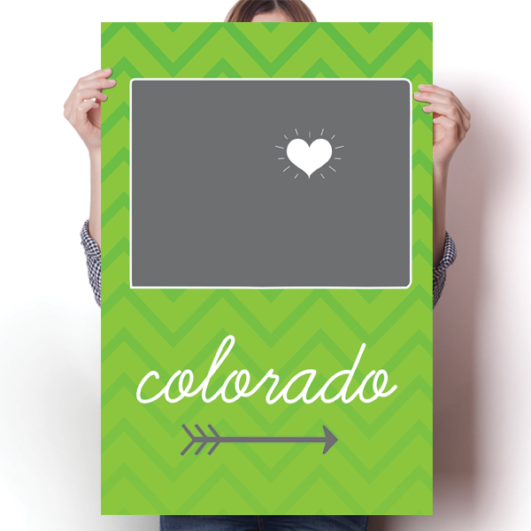 Colorado State Chevron Pattern