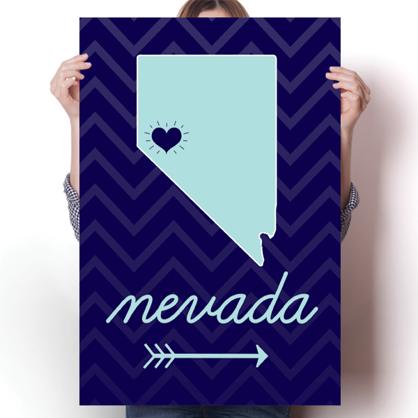 Nevada State Chevron Pattern