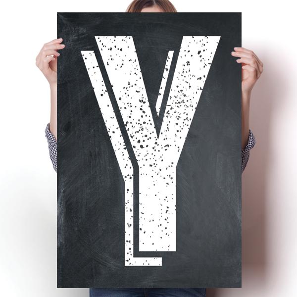 Alphabet Letters - Y