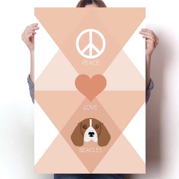 Peace, Love & Beagles