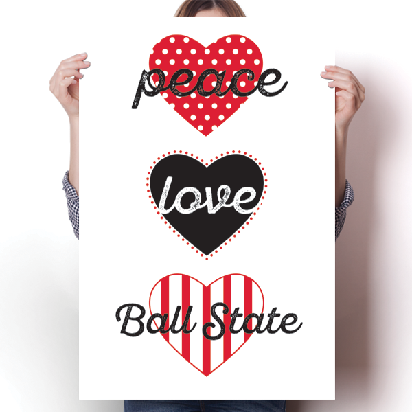 Peace, Love, Ball State - NCAA