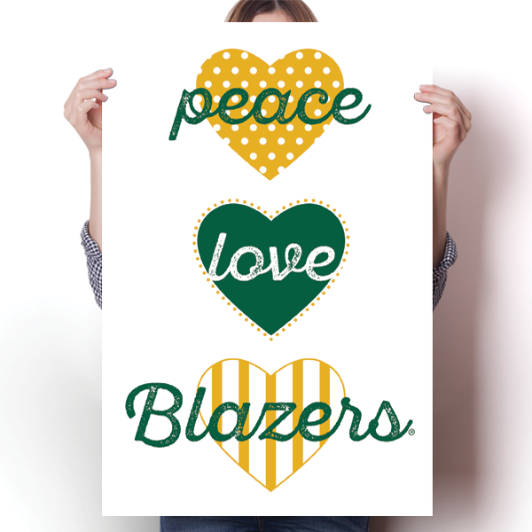 Peace, Love, Blazers (University of Alabama, Birmingham) - NCAA