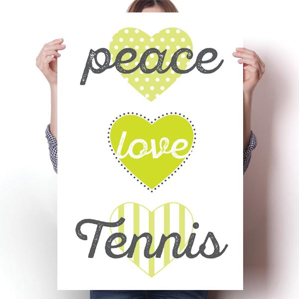 Peace, Love, Tennis
