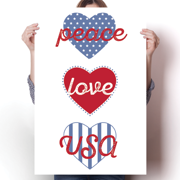Peace, Love, USA