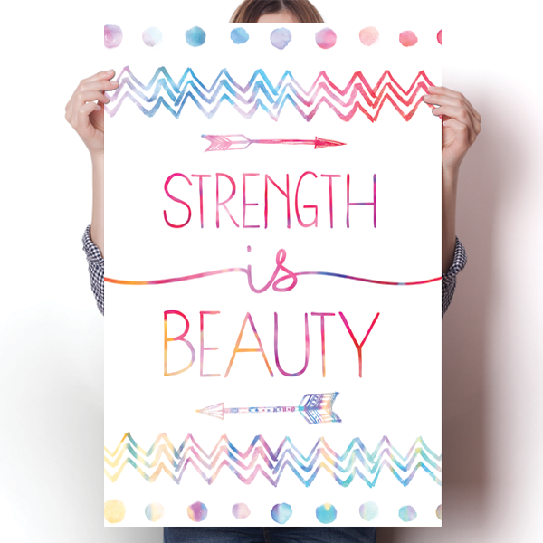 Strength Is Beauty