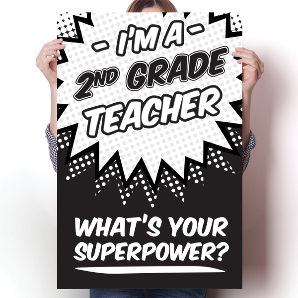 What's Your Superpower - 2nd Grade Teacher