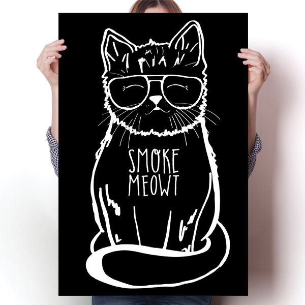 Smoke Meowt - Stoner Cat