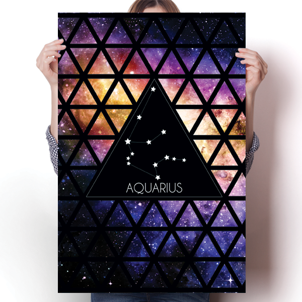 Zodiac Constellation - Aquarius