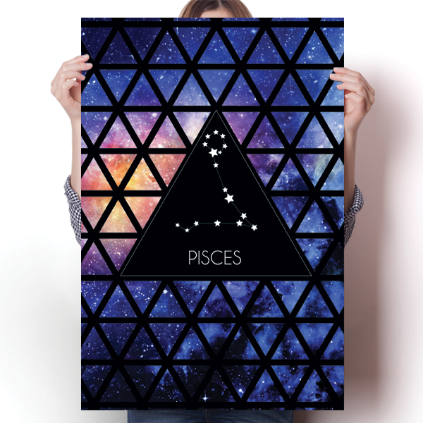 Zodiac Constellation - Pisces
