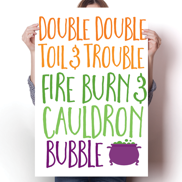 Double Double, Toil and Trouble
