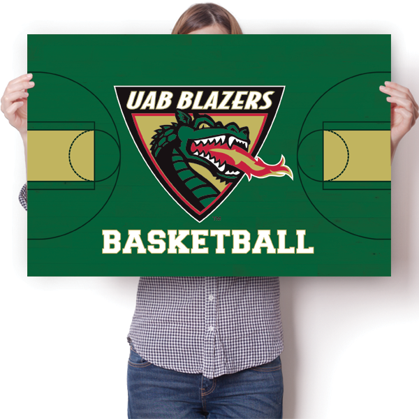 UAB Blazers - Basketball Court