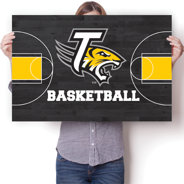 Towson University Tigers - Basketball Court