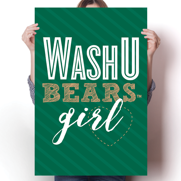 Wash U Bears Girl