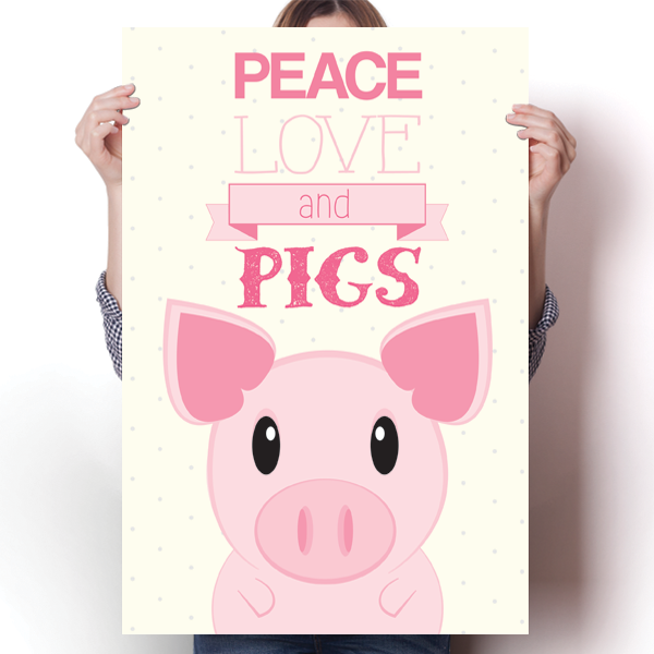 Peace, Love, Pigs