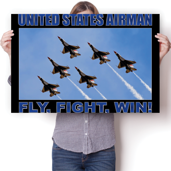 United States Airman - Fly Fight Win