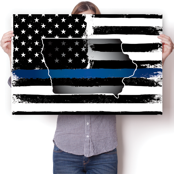 Thin Blue Line - Iowa
