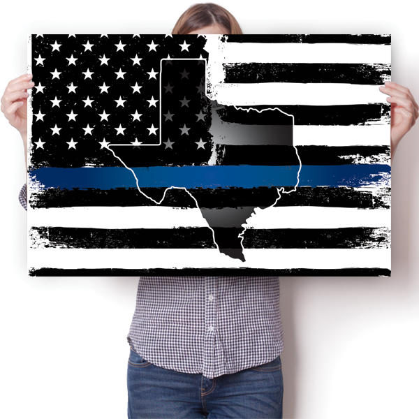 Thin Blue Line - Texas