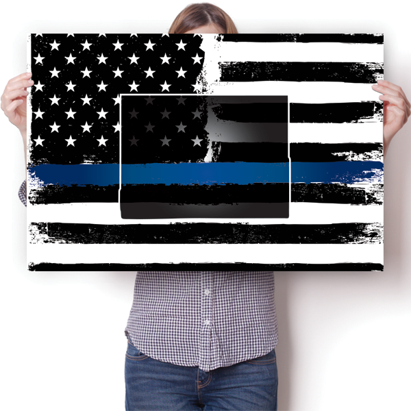 Thin Blue Line - Wyoming