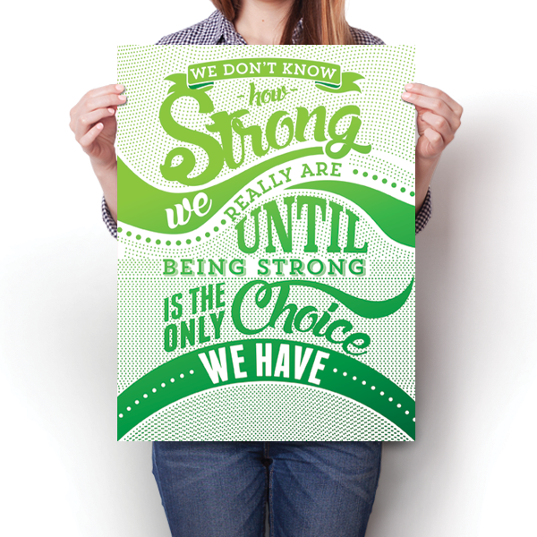 How Strong - Green Awareness Color