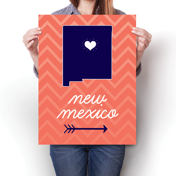 New Mexico State Chevron Pattern