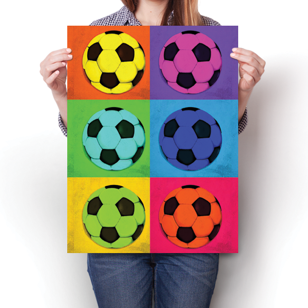 Pop Art - Soccer
