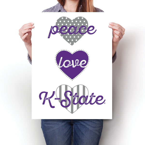 Peace, Love, K-State - NCAA