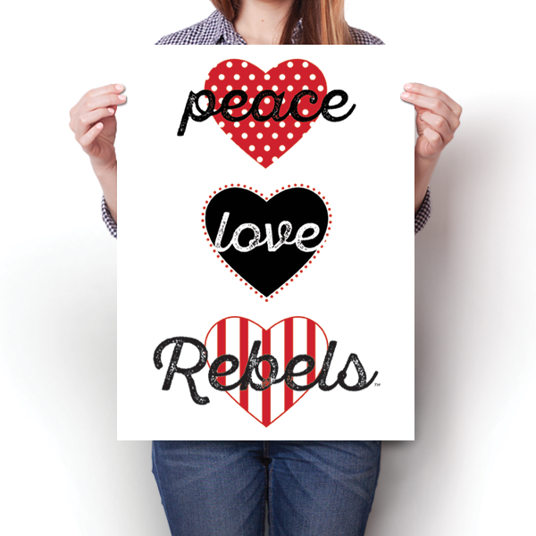 Peace, Love, Rebels (UNLV) - NCAA