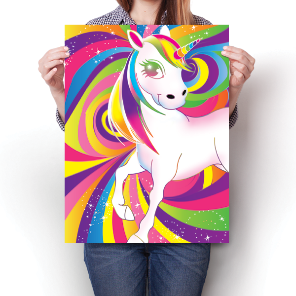 Rainbow Unicorn Swirls
