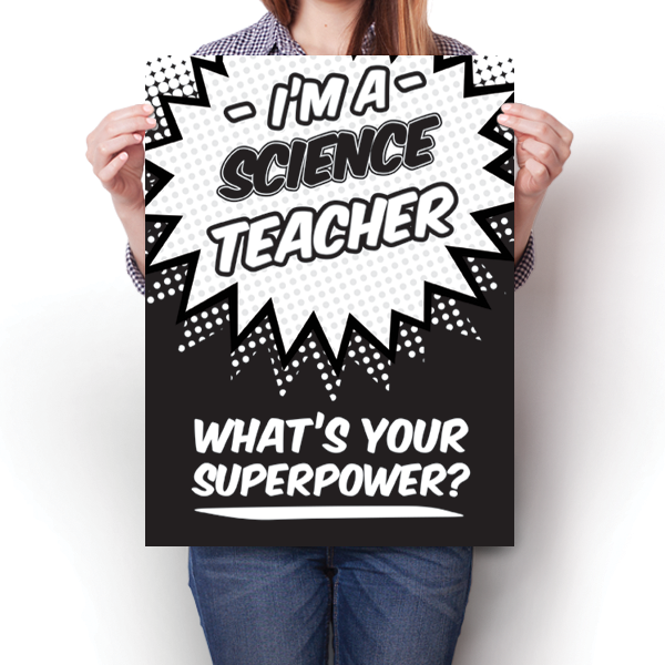 What's Your Superpower - Science Teacher