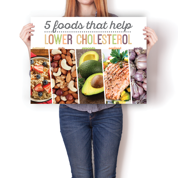 5 Foods That Help Lower Cholesterol