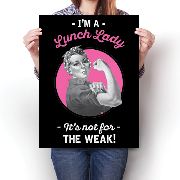 Lunch Lady - Not For The Weak