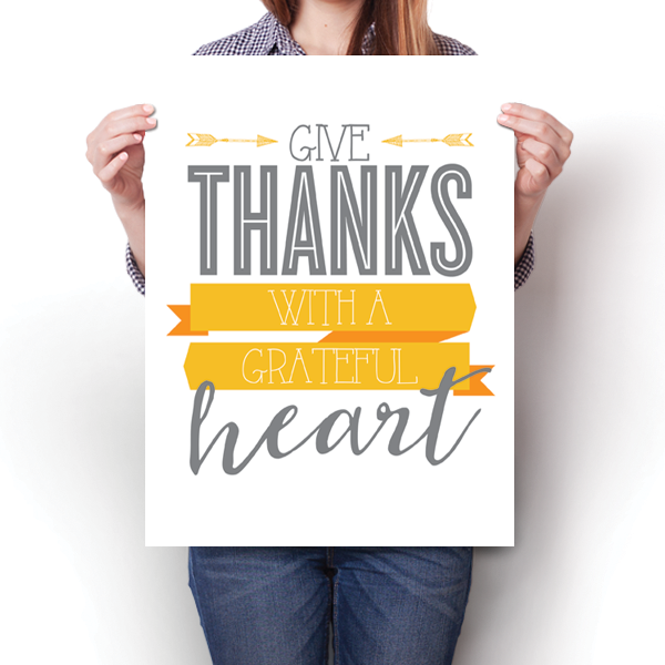 Give Thanks - Grateful Heart