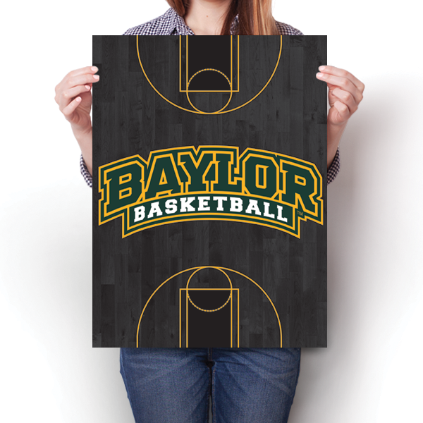 Baylor University Bears - Basketball Court