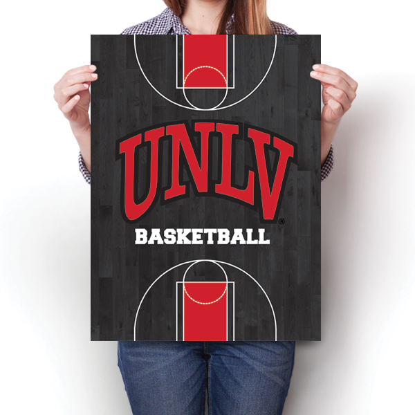 UNLV Rebels - Basketball Court