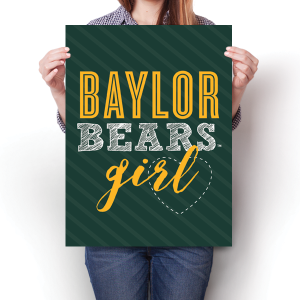 Baylor Bears Girl