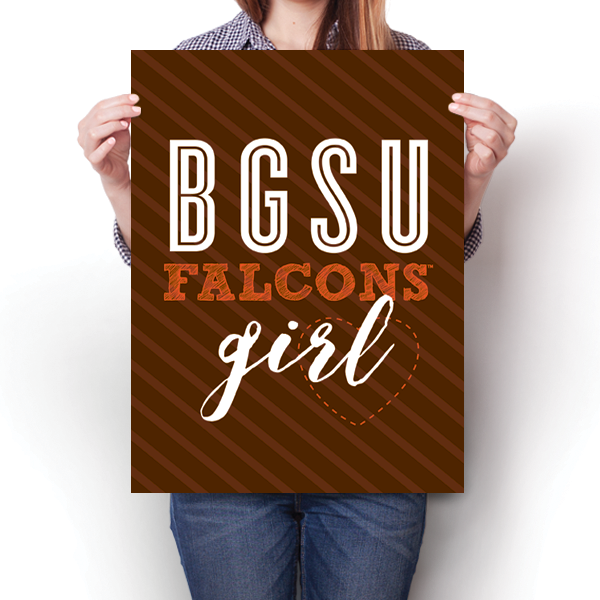 BGSU Falcons Girl