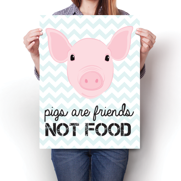 Pigs Are Friends, Not Food