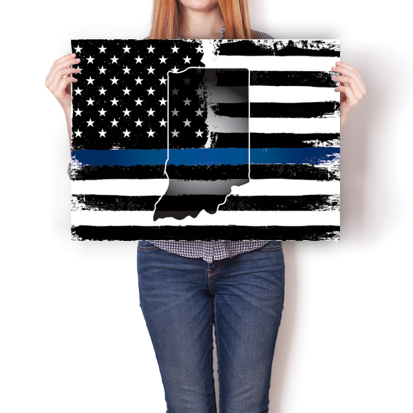 Thin Blue Line - Indiana