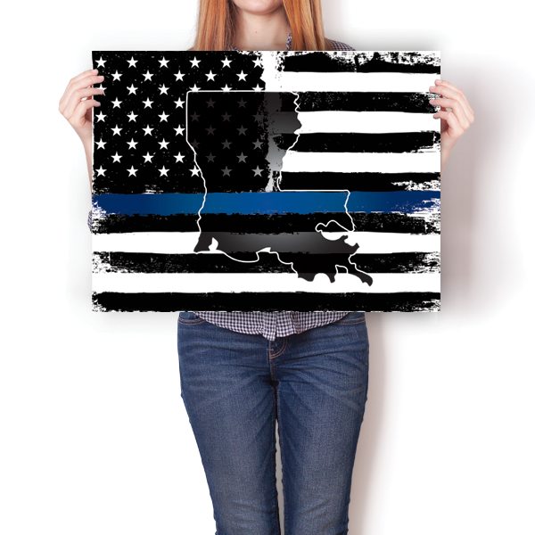 Thin Blue Line - Louisiana