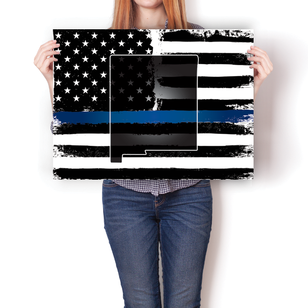 Thin Blue Line - New Mexico