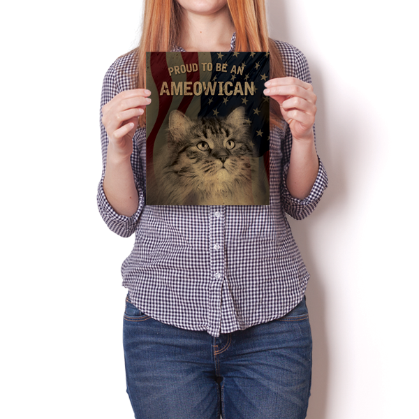Proud To Be An Ameowican