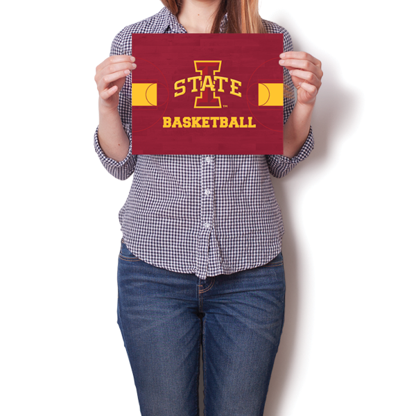 Iowa State University Cyclones - Basketball Court