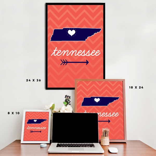 Tennessee State Chevron Pattern